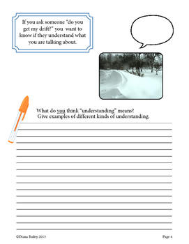 Warm-up Writing Prompts - 4 FREE Four-Season Idiom Picture Prompts