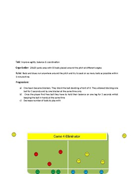 Warm up games