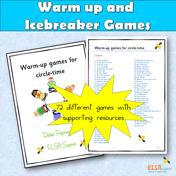 Warm up games for circle time