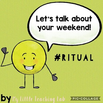 Warm-up: let's talk about your weekend!