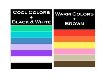 Warm vs. Cool Colors