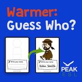Warmer - Guess Who - FREEBIE!