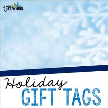 Free Holiday Gift Tags for Student Gifts - Inexpensive Holiday gift Ideas for Students