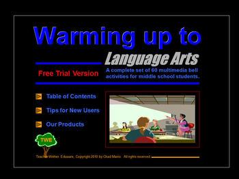 Warming Up to Language Arts
