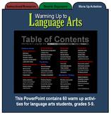 Warming Up to Language Arts, Full Version