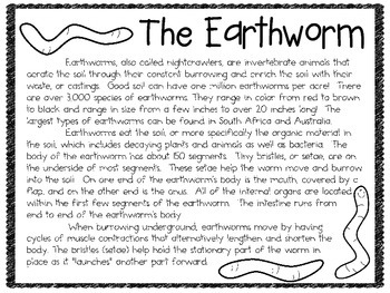 Warming up to Worms: A Lab Packet Using LIVE Earthworms