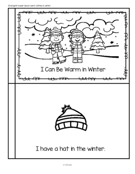 Warm and Cozy in Winter Centers and Activities for Preschool and Pre-K