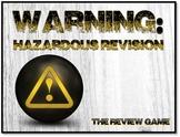 Warning: Hazardous Revision - Fun Test Prep Review Game