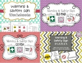 Warning & Safety Signs Activity Bundle