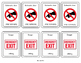 Warning & Safety Signs Go Fish Game