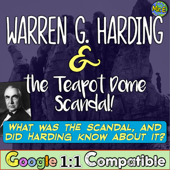 Warren G. Harding the Teapot Dome Scandal: Did Harding Know Before His Death?