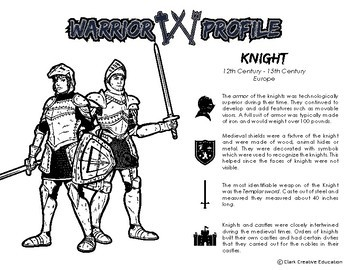 Warrior Class - Knights Resources - Differentiated Leveled Reading & Fun