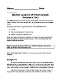 Warrior Women of Tribal Europe: Boudicca DBQ