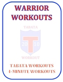 Warrior Workouts: Tabata Workout Cards