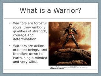 Warrior in Me Presentation
