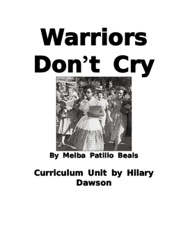 Warriors Don't Cry Abridged Edition Unit