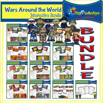 #TpTBeMine Wars Around the World Lapbook BUNDLE - EBOOK