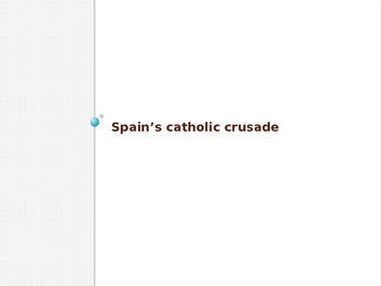 Wars of Religion PowerPoint