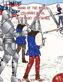 Wars of the Roses Coloring Book with Print Copywork