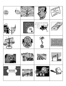 Wartime Mistakes, Peacetime Apologies Holt Intro  Gr. 6 Vocab Cards