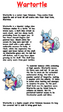 Wartortle Reading Comprehension