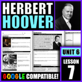 Was President Hoover's response to the Great Depression a