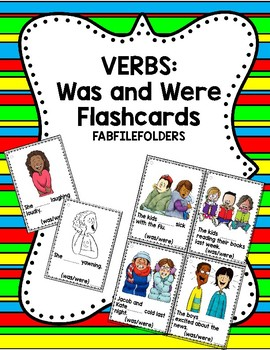 Was and Were Verbs