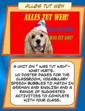 Was tut weh What hurts in German