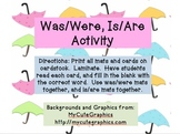 Was/Were, Is/Are Spring Activity