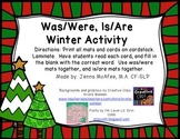 Was/Were, Is/Are Winter Activity