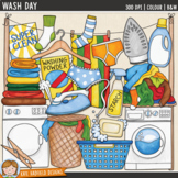 "Laundry / Chores Clip Art: ""Wash Day"""