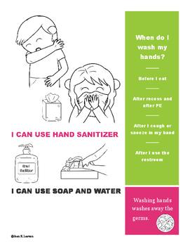 Wash Hands Visual Poster