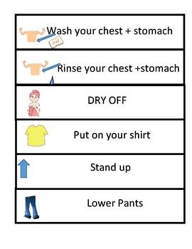 Wash-Rinse-Clothing Checklist