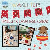Wash The Dog Speech & Language Cards
