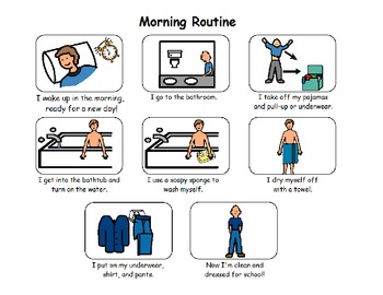 Wash Up Morning Routine