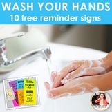 Wash Your Hands Posters: 10 Free Signs