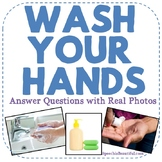 Wash Your Hands: Answer Questions with Real Photos