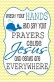 Wash Your Hands - Bathroom Sign