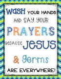 Wash Your Hands...FREE Poster!