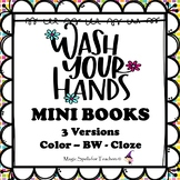 Wash Your Hands - Mini Books - Hygiene  - Coronavirus - FR