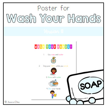 Wash Your Hands Poster v. III