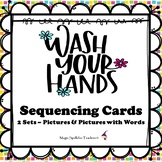 Wash Your Hands - Sequencing Cards - Hygiene - Coronavirus