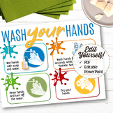 Wash Your Hands Sign - INSTANT DOWNLOAD