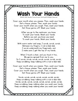 """""""Wash Your Hands"""""""
