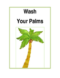Wash Your Palms Sign