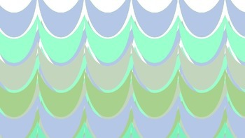 Washed Up Designs Blue-Green-Grey-Gold Waves