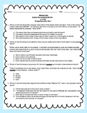 Washed Up! p. 1-41 Comprehension Test Standardized Test Style ReadyGen 5th Grade