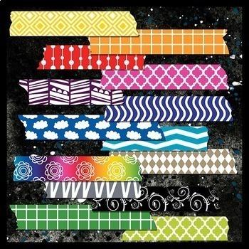 Washi Tape Clip Art