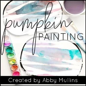 Washi Tape Pumpkin Painting