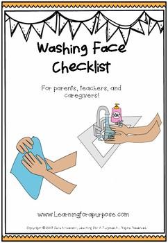 Washing Face Checklist